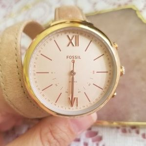 Fossil 32mm Watch, Rose Gold